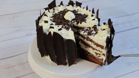 Weisse Schoko Mousse Torte Candy Cake More